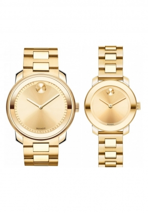 Movado Couple Bold Watch 3600258 3600235