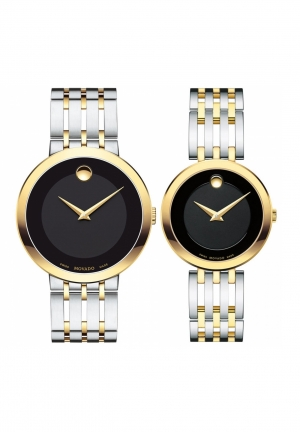 Movado Couple ESPERANZA TWO TONE  0607058 và 0607053
