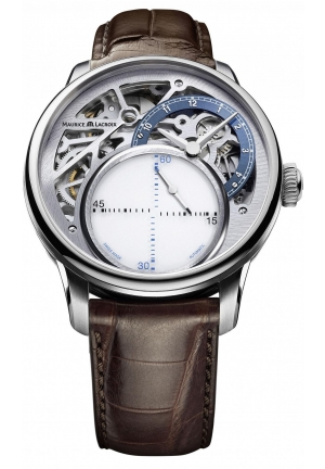 MAURICE LACROIX Masterpiece Seconde Mysterieuse Mens Watch 43mm