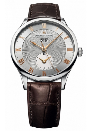MAURICE LACROIX MASTERPIECE DATE GMT 40mm