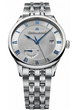 MAURICE LACROIX Masterpiece Silver Dial Men's Watch 40mm