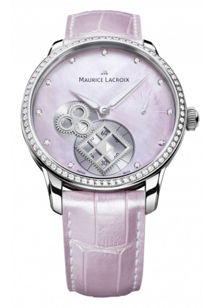 MAURICE LACROIX MASTERPIECE SQUARE WHEEL PINK PEARL 43mm