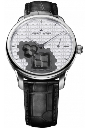 MAURICE LACROIX Masterpiece Square Wheel Mens Watch 43mm