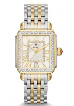 Deco Madison Diamond Two-Tone, Diamond Dial Watch MWW06T000144