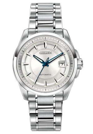 "Citizen Men's""The Signature Collection Grand Classic"" Stainless Steel Automatic Watch"