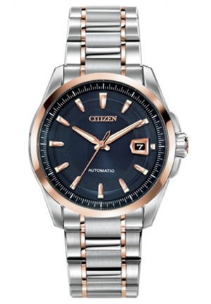 "Citizen Men's ""Grand Classic"" Stainless Steel Automatic Watch"