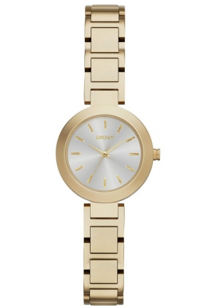 DKNY Stanhope Gold-Tone Bracelet Watch 28mm