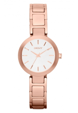 DKNY Stanhope Rose Gold-Tone Watch 28mm