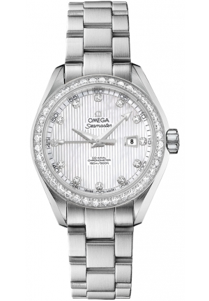 OMEGA Aqua Terra Ladies Automatic 231.15.34.20.55.001, 34mm