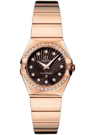 OMEGA Constellation Polished 123.55.24.60.63.002, 24mm