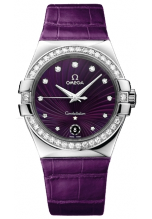 OMEGA Constellation Quartz 123.18.35.60.60.001, 35 mm
