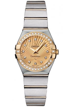 OMEGA Constellation Quartz 123.25.24.60.58.001, 24 mm