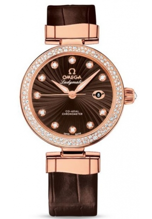 OMEGA De Ville Ladymatic Omega Co-Axial 425.68.34.20.63.001, 34 mm