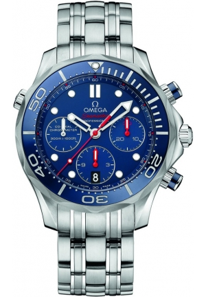 OMEGA Diver 300 M Co-Axial Chronograph 212.30.44.50.03.001, 44 mm