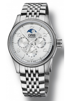 Oris Big Crown Complication Silver Dial Stainless Steel Men 01-582-7678-4061-07-8-20-30