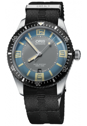 ORIS Diver Sixty Five Blue Dial Men's Watch 01 733 7707 4065-07 5 20 26FC