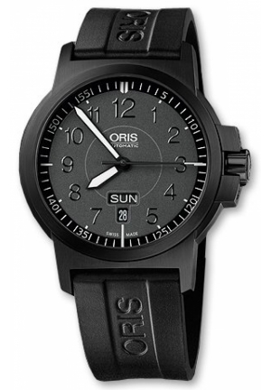 ORIS ORIS BC3 ADVANCED, DAY DATE MENS WATCH 42mm 735-7641-4764RS