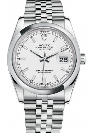 Oyster steel DATEJUST , M116200-0100 36 mm