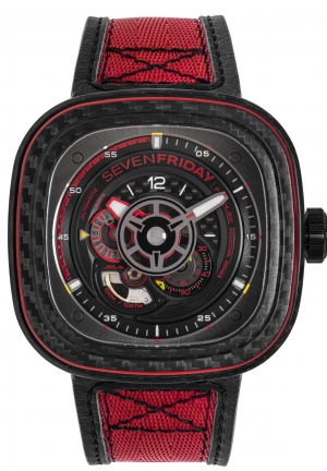 SEVENFRIDAY - P3C/04 Red Carbon