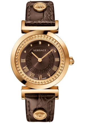 VERSACE VANITY GOLD ION-WOMEN WATCH 35MM