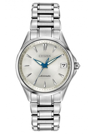 Citizen Women's Grand Classic Analog Display Automatic Self Wind Silver Watch