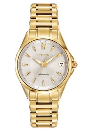 Citizen Women's Grand Classic Analog Display Automatic Self Wind Gold Watch