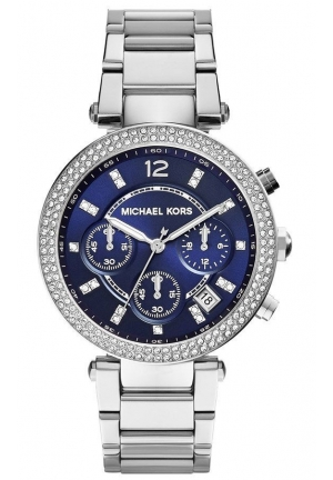Parker Blue Dial Bracelet Ladies Watch 39mm