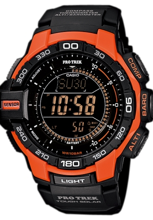 CASIO protrek riple tough solar Sensor Watch