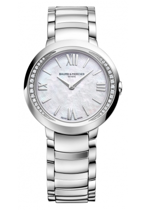 BAUME & MERCIER Promesse Mother of Pearl Dial Stainless Steel Ladies Watch 30MM