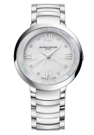 BAUME & MERCIER Promesse Mother of Pearl Stainless Steel Ladies Watch