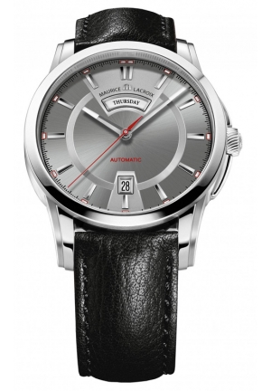 MAURICE LACROIX Pontos Day Date Automatic Dial Mens Watch 40mm