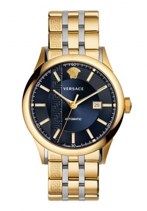GOLD TONED AIAKOS AUTOMATIC WATCH
