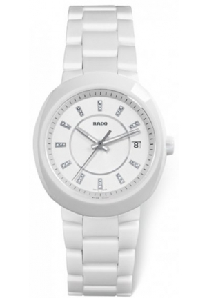 RADO D-Star Lady L Ceramic Jubile Quartz Watch R15519702 38mm