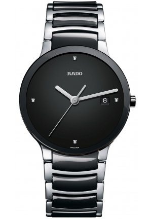 RADO Men's Black Ceramic Bracelet  R30941702 38mm