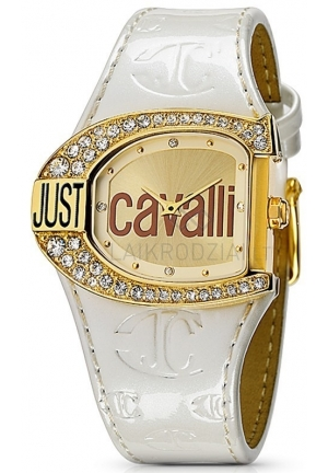 Just Cavalli Just Cavalli Women's Logo Quartz Gold Dial Watch
