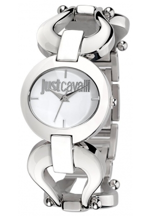 Just Cavalli Women's Cruise Stainless Steel Oval White Dial Watch