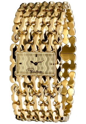 Roberto Cavalli Women's R7253124017 Gold/Silver Stainless Steel Watch