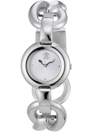 Roberto Cavalli Axelis Women's Silver Steel Bracelet Jewelry Watch