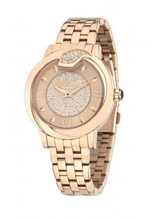 Just Cavalli Women's Leather Spire Just Cavalli Women's Spire Quartz Watch