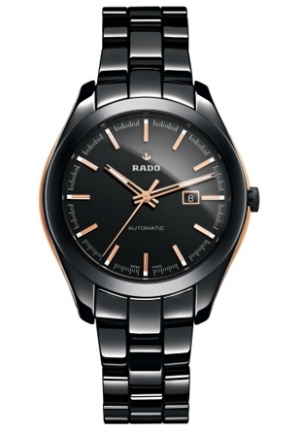 RADO Hyperchrome Automatic Black Dial Black Ceramic Ladies Watch R32291152 34mm