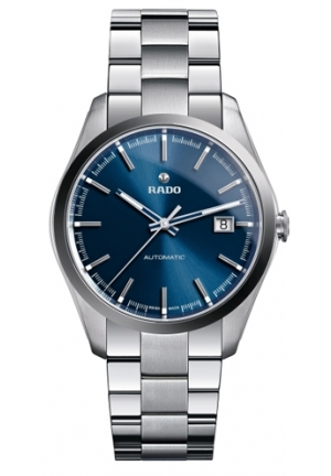 RADO Hyperchrome Automatic Blue Dial Steel and Ceramic Mens Watch R32110203 40mm