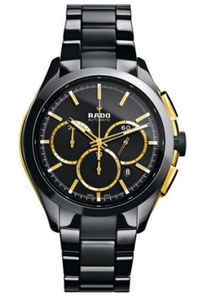 RADO Hyperchrome Mens - Black Dial Ceramic Case Automatic Movement R32277152 51mm