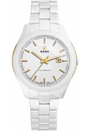 RADO Hyperchrome White Dial White Ceramic Ladies Watch R32257012 36mm