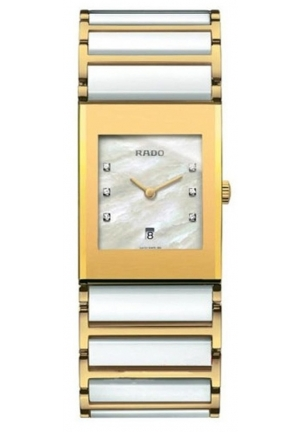 RADO Integral Jubile Women's Quartz Watch R20791901 30 x 25.5 mm