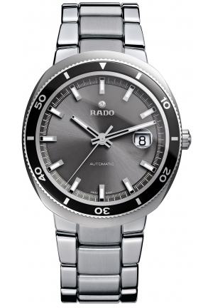RADO Men's Swiss Automatic D-Star 200 Stainless Steel Bracelet R15959103 42mm