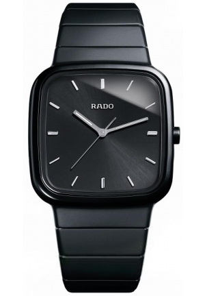 RADO R5.5 Jubile Black Dial Black Ceramic Mens Watch R28888152 37.0 x 46.4 mm