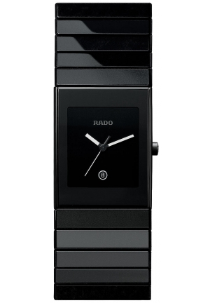 RADO Rado Watch, Ceramica Black Ceramic Bracelet R21347222  32x27mm