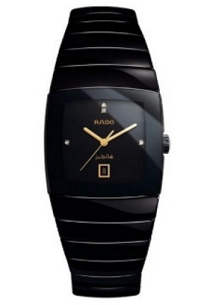 RADO Sintra Black Ceramic Mens Watch R13724712  32.4 x 41.4 mm