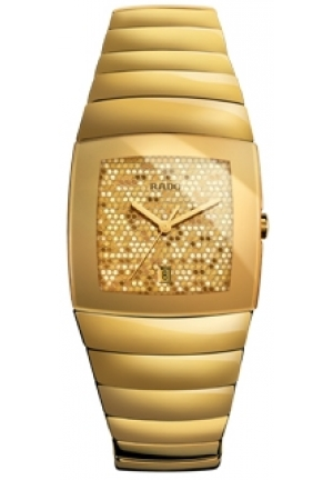 RADO Sintra Gold Men's Quartz Watch R13776252 32.4 x 41.4 mm