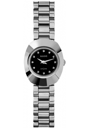RADO Women's Original Black Dial Bracelet R12558153 20.8 mm
